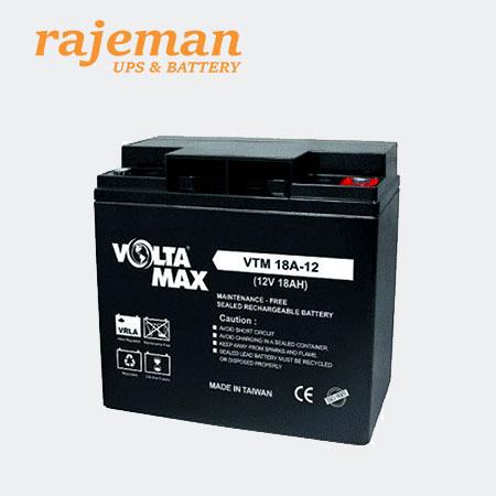 باتری ولتامکس 12 ولت 18 آمپر