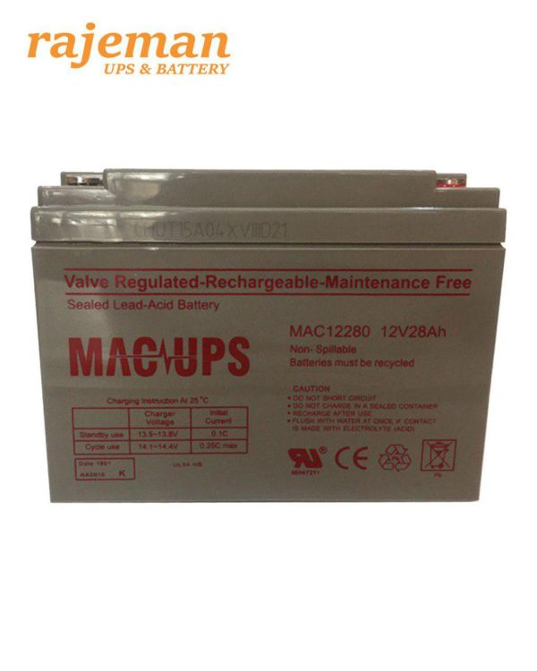 باتری فاراتل 28 آمپر MAC