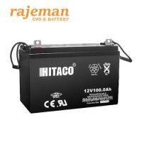 باتری هیتاکو ۱۲ ولت ۱۰۰ آمپر Hitaco