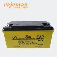 باتری 12 ولت ۶۵ آمپر صبا باتری