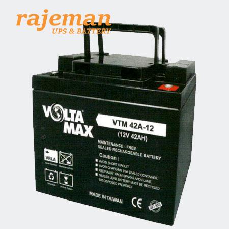 باتری ولتامکس ۱۲ ولت ۴۲ آمپر