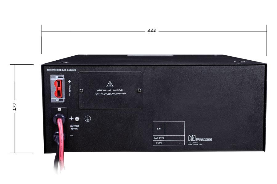 کابینت باتری فاراتل SBC48-28