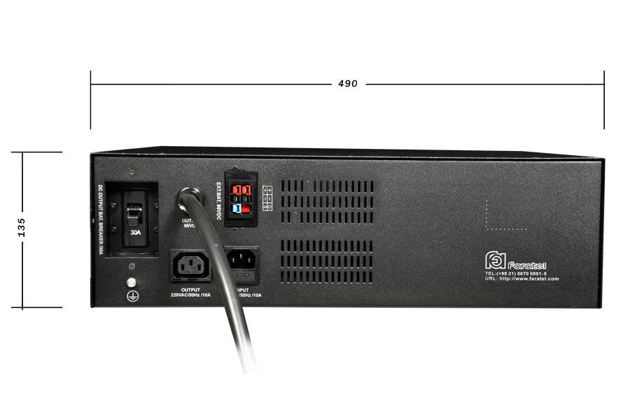 کابینت باتری فاراتل SBC48-18-P