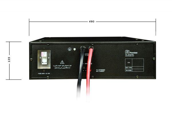 کابینت باتری فاراتل SBC240-9